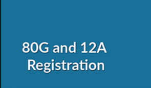 CHANGES IN REGISTRATION / RENEWAL PROCESS UNDER SECTION 12A & SECTION 80G